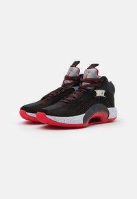 Jordan - AIR 35 - Basketball shoes - black/fire red/reflect silver - 1