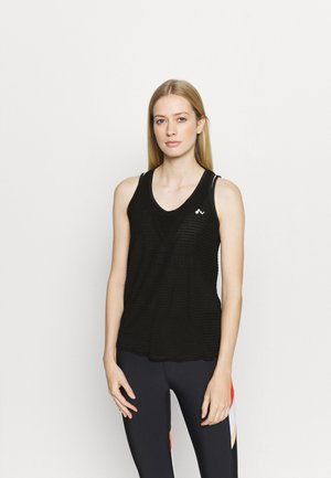 ONPOMELIA TRAINING - Top - black/silver