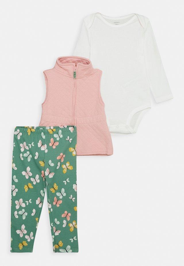 VEST SET - Waistcoat - pink