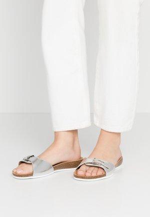 BAHAMAIS - Chaussons - blanc/argento