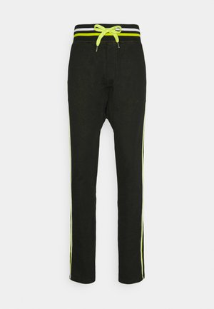 PAUL MODE - Tracksuit bottoms - matrix black/green/white