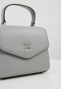 DKNY - WHITNEY SATCHEL - Across body bag - grey melange - 7