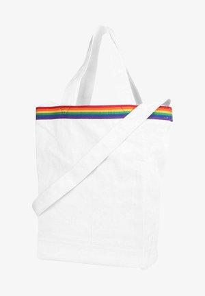 RAINBOW TAB FESTIVAL - Across body bag - regular white