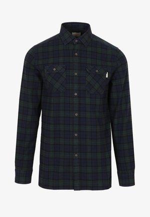 Shirt - navy check