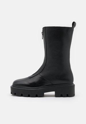 BIADANIELLE - Platform boots - black