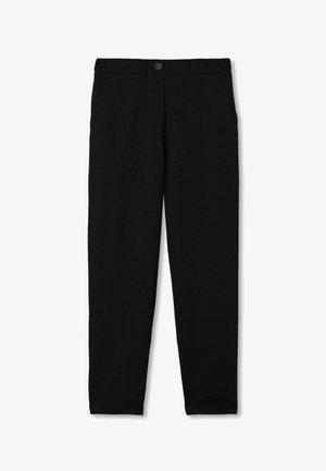 KAROTTEN - Trousers - schwarz - 9107 - black