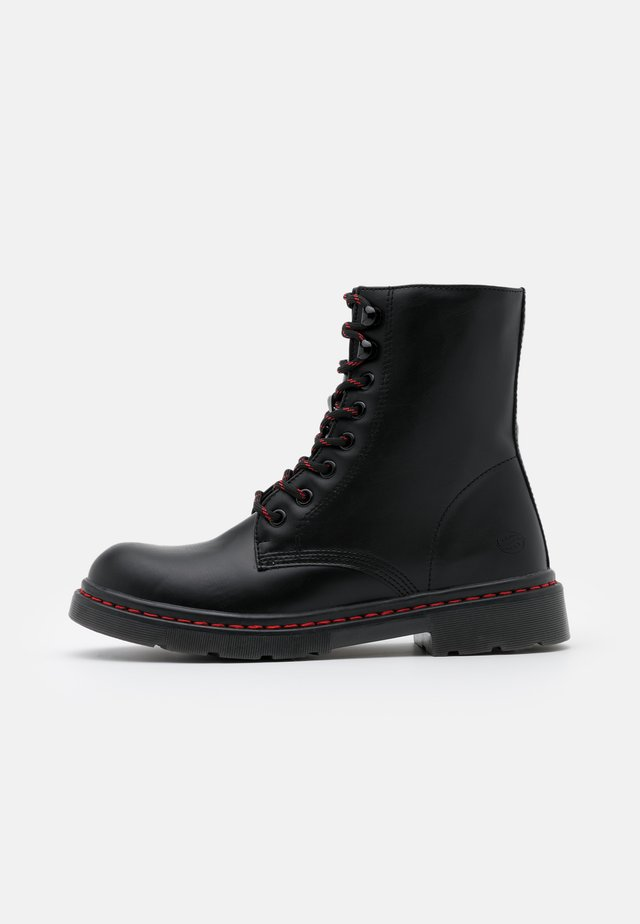 Bottines à lacets - allblack