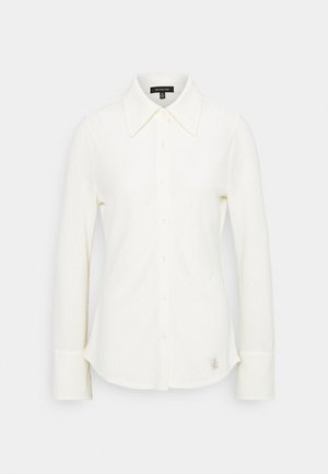 FITTED SHIRT - Button-down blouse - cream