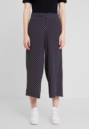 KAWAI CULOTTE PANTS - Pantalones - night sky