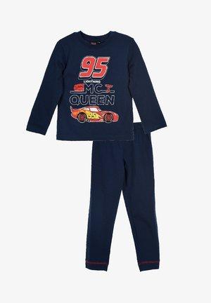 SET - Pyjama set - dunkel blau