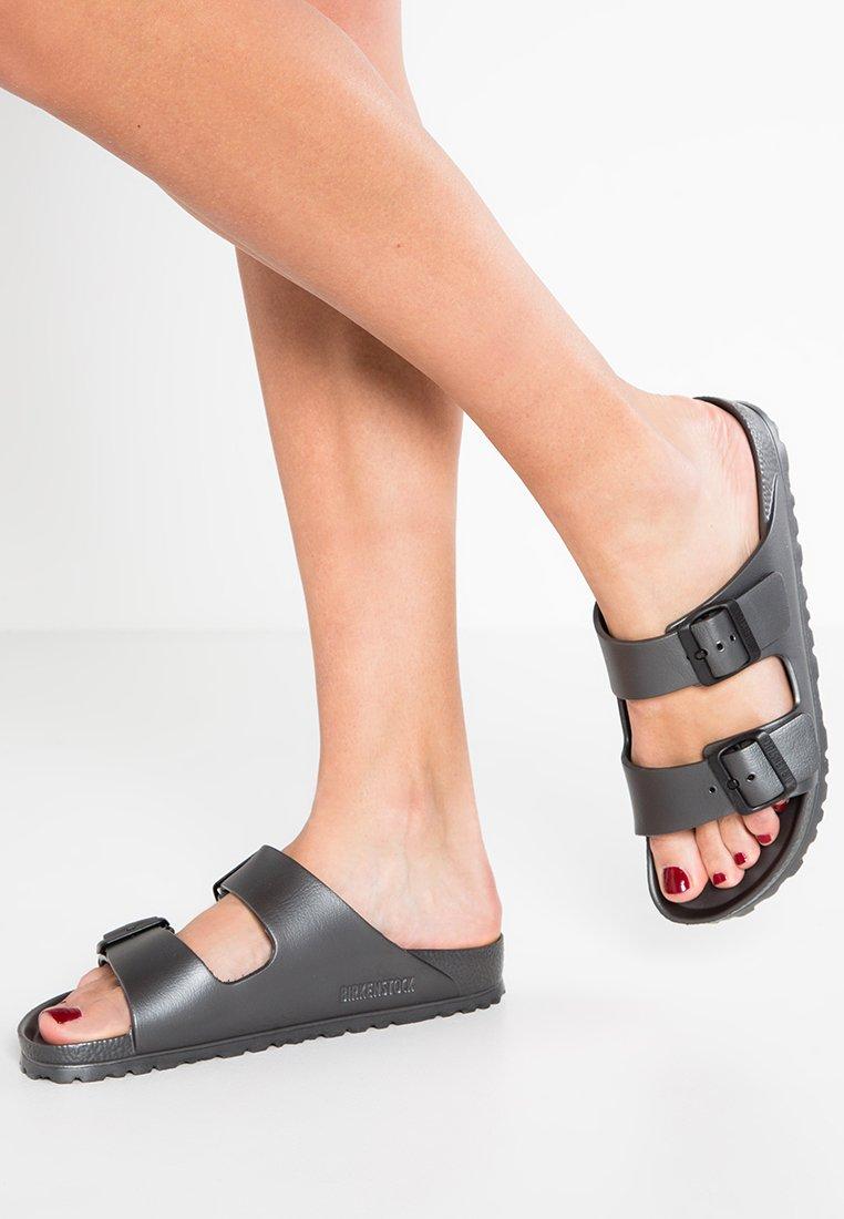 Birkenstock - ARIZONA  - Sandály do bazénu - metallic anthracite
