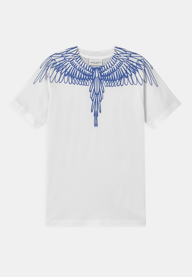 OUT WINGS - T-shirt con stampa - white