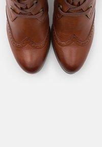 Caprice - Ankle boots - cognac - 5