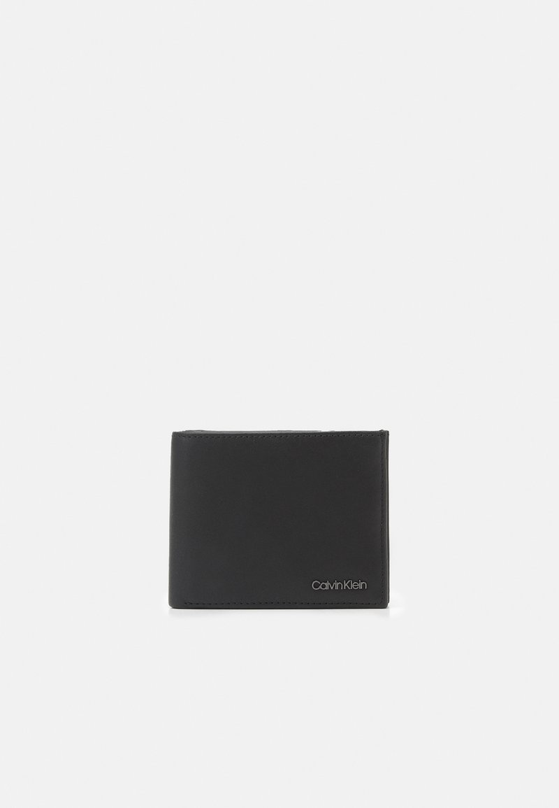 Calvin Klein - BIFOLD COIN - Peněženka - black