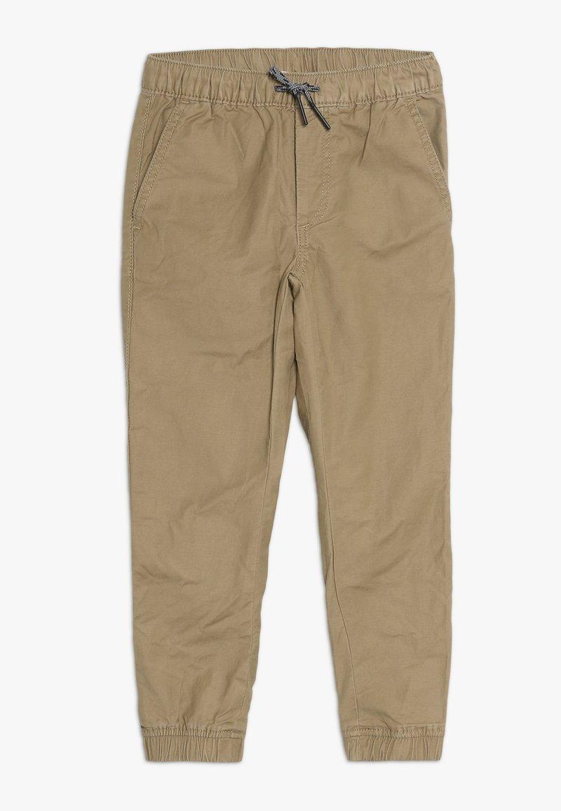 GAP - BOY CLASSIC JOGGER - Trousers - cream caramel
