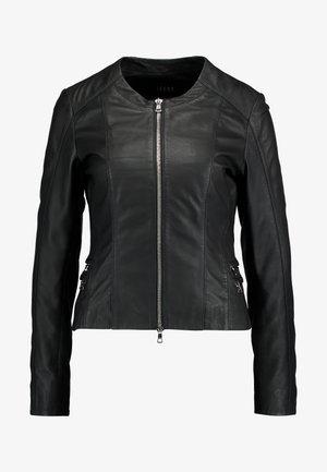 COURTNEY - Veste en cuir - black