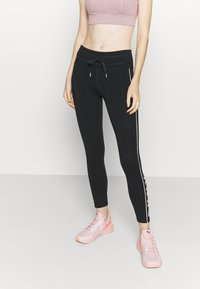 DKNY - MID RISE LEGGING - Leggings - rosewater - 0