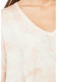 Rosa & Me - Print T-shirt - braun/weiß - 4