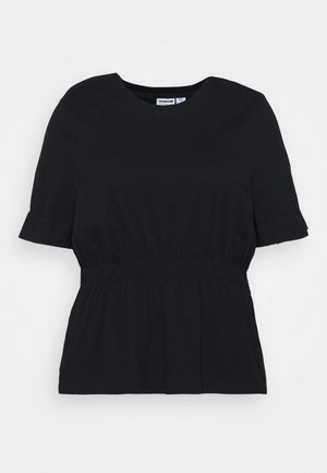 NMPALMER - Jednoduché triko - black