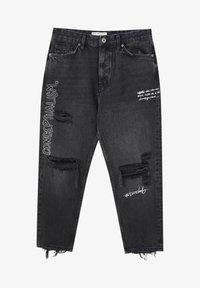 PULL&BEAR - Jeans baggy - black - 7