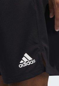 adidas Performance - ALL SET 2 DESIGNED2MOVE SHORTS - Shorts - black - 4