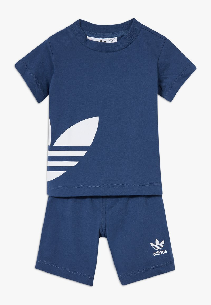 adidas Originals - BIG TREFOIL SET - Shorts - marin/white