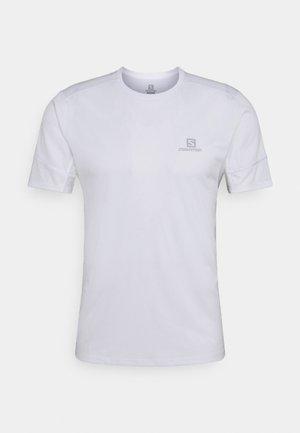 AGILE TEE - T-shirt - bas - white