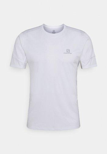 AGILE TEE - Basic T-shirt - white