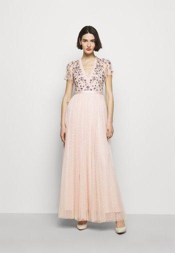 PRAIRIE FLORA BODICE DRESS - Společenské šaty - pink encore