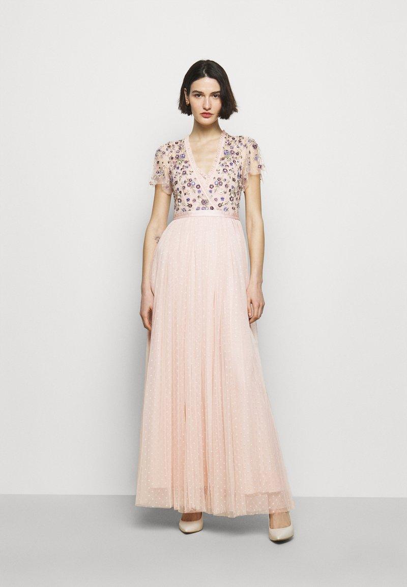 Needle & Thread - PRAIRIE FLORA BODICE DRESS - Ballkjole - pink encore
