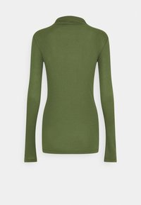 Marc O'Polo DENIM - LONGSLEEVE TURTLENECK - Long sleeved top - utility olive - 1