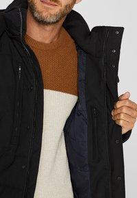 Esprit - MIT VARIABLER KAPUZE - Winter jacket - black - 3
