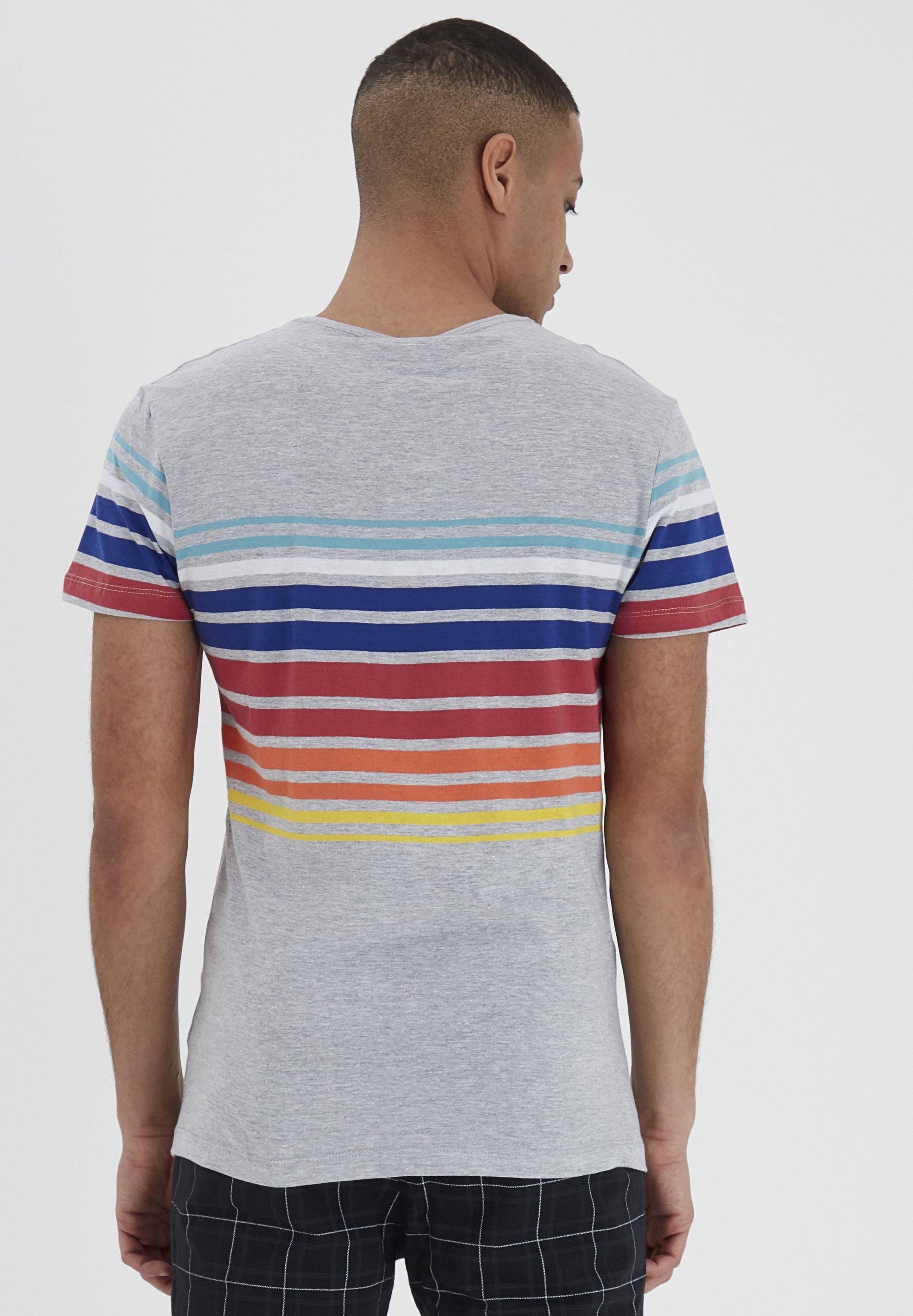 Blend Print T-shirt - stone mix 8EbpB