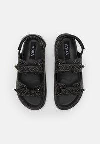 ASRA - SOJO - Sandales - black - 3