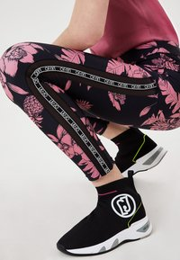 LIU JO - Leggings - Trousers - black/pink - 3