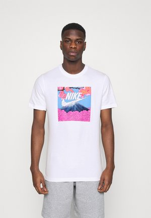 TEE MANGA PHOTO - Camiseta estampada - white