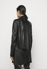 RIANI - Leather jacket - black - 2