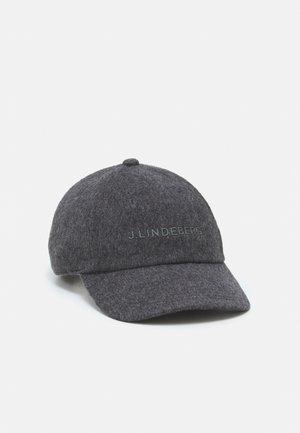 ELIJAH FLAT UNISEX - Cap - dark grey