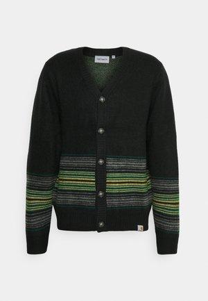 DILLON CARDIGAN - Vest - black