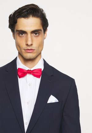 ONSTED BOW TIE SET - Pocket square - pompeian red