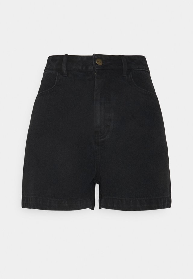 SEVENTY THREES - Shorts di jeans - washed black