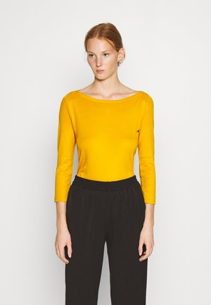 Long sleeved top - mustard
