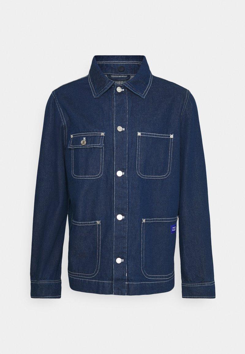 Scotch & Soda - WORKWEAR JACKET - Denim jacket - indigo