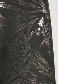 Dorothy Perkins Petite - JACQUARD BARDOT BELTED MIDI - Cocktailkleid/festliches Kleid - black - 5