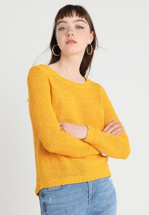 ONLGEENA - Jersey de punto - golden yellow