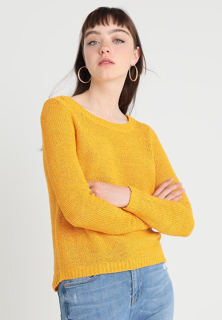 ONLY - ONLGEENA - Strikkegenser - golden yellow
