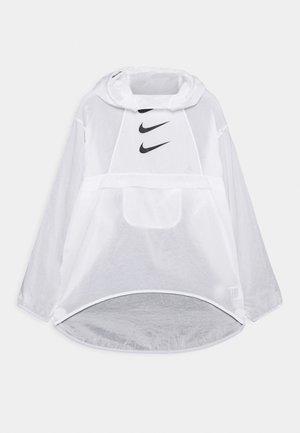 RUN  - Sports jacket - white/black