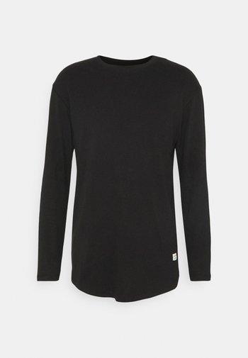 JENOA TEE O NECK  - Long sleeved top - black