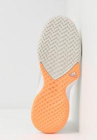 adidas Performance - ADIZERO CLUB - Multicourt tennis shoes - orbit grey/silver metallic/signal orange - 4
