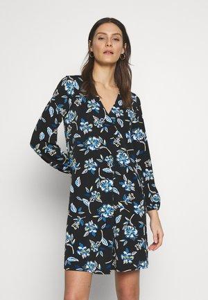 BATIK FLORAL DRESS - Sukienka z dżerseju - blue